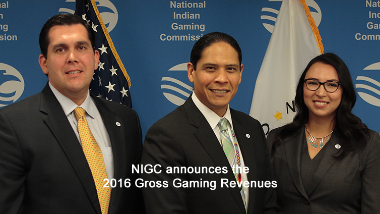 2016 indian gaming revenues total $31.2 billion, an increase of 4.4%