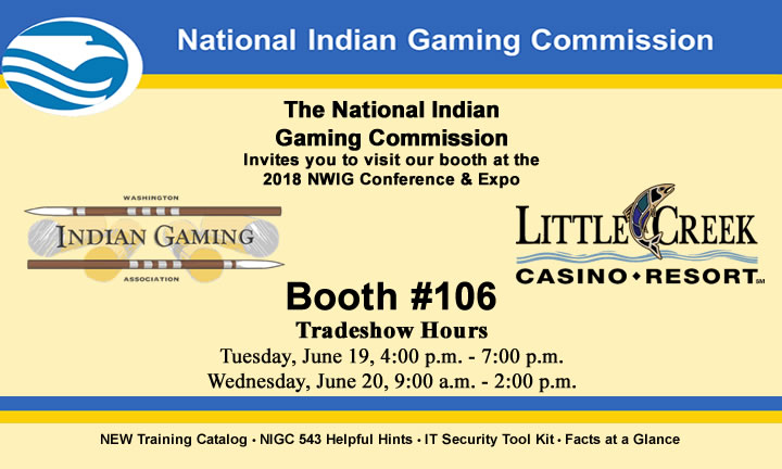 Join us at the 2018 Northwest Indian Gaming Conference & Expo