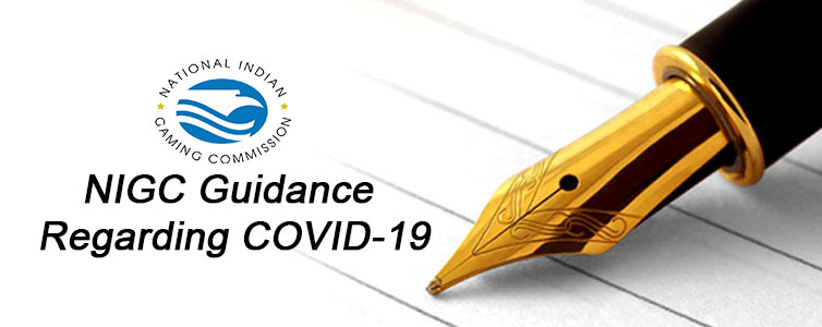 NIGC Guidance Regarding COVID-19