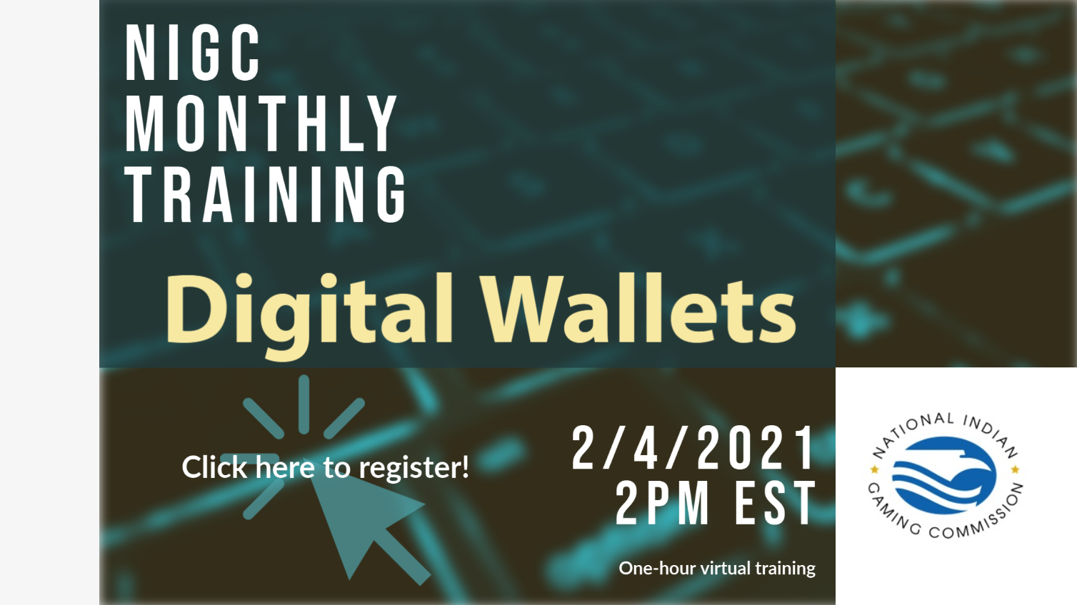 NIGC Monthly Training - Digital Wallets