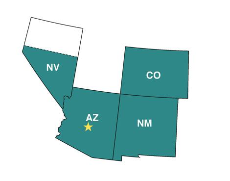 NIGC Phoenix Regional Map