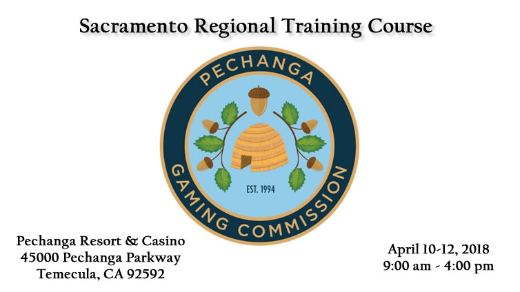 Sacramento Regional Training Course