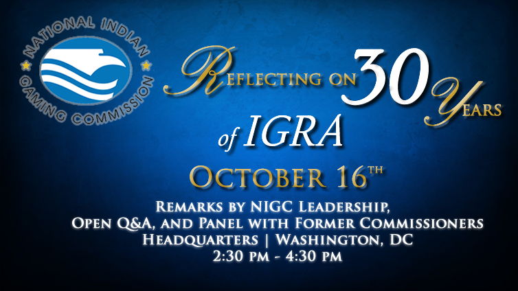 Reflecting on 30 Years of IGRA