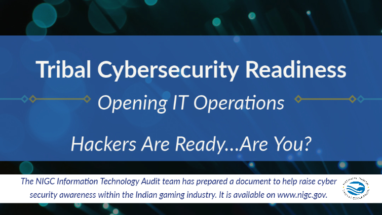 Tribal Cybersecurity Readiness