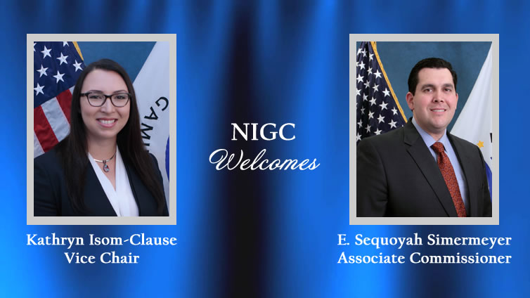 Welcome NIGC Commissioners