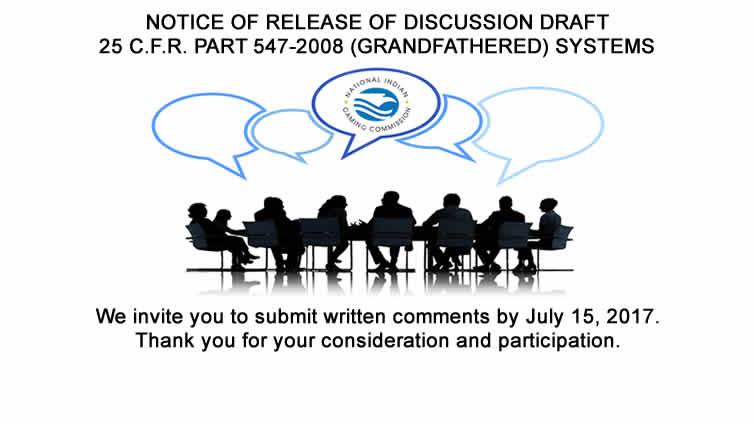 Notice of Release of Discussion Draft