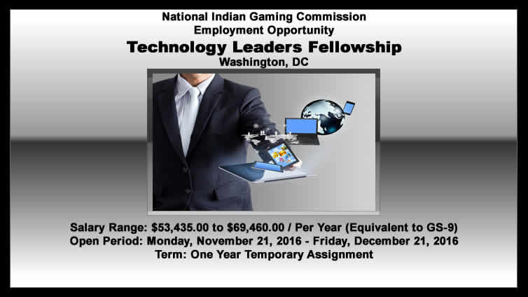 NIGC Employment Opportunity: Technology Leaders Fellowship