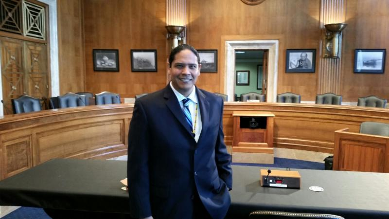 Jonodev Chaudhuri sworn in as Chair of the National Indian Gaming Commission
