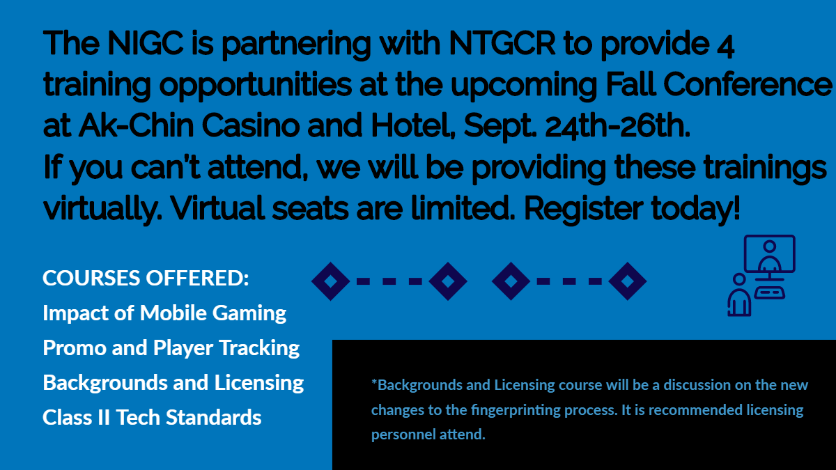 NIGC Virtual Stream @ NTGC/R Fall Conference