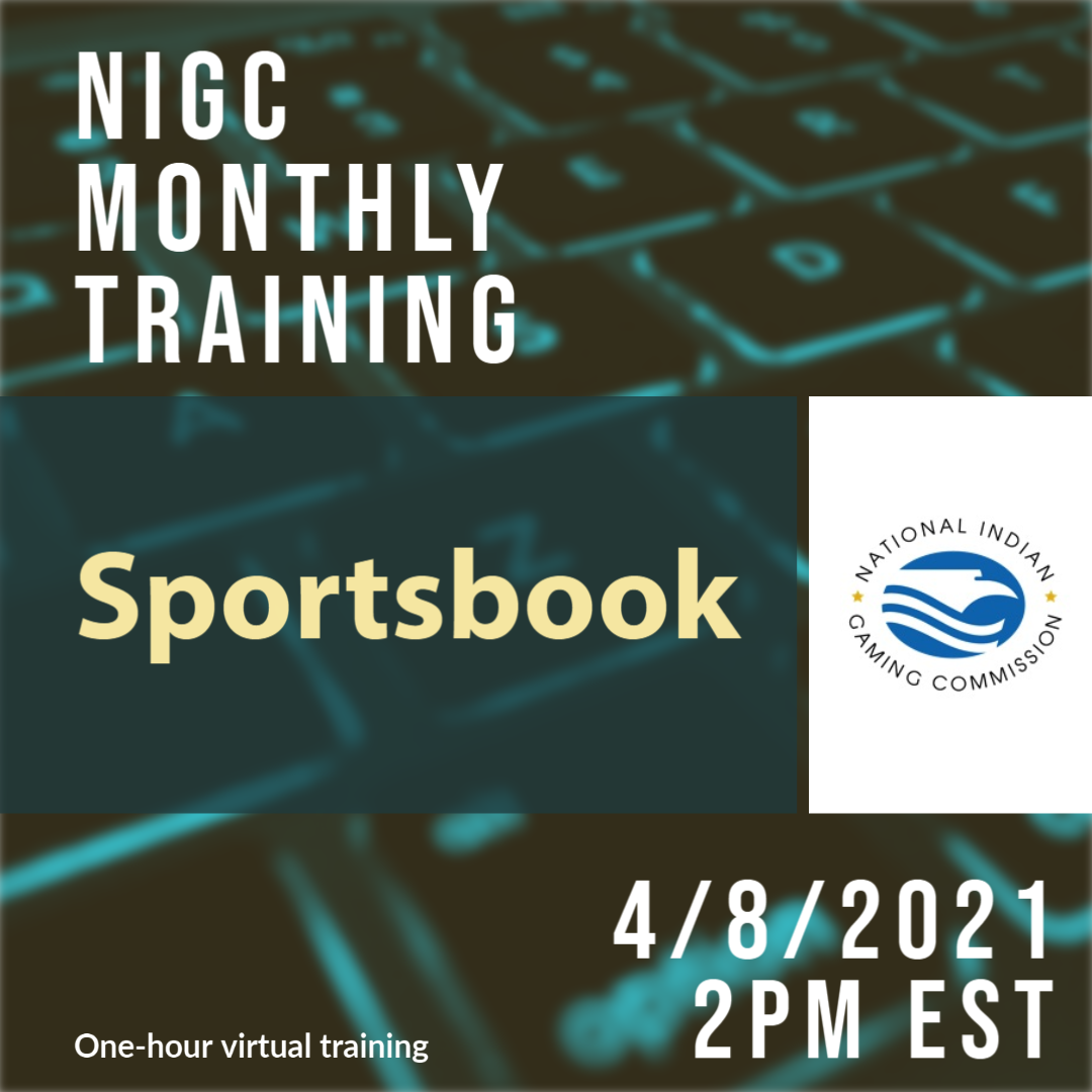 NIGC Monthly Training: Sportsbook